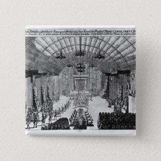 Banquet in the Romer Hall at Frankfurt-am-Main Pinback Button