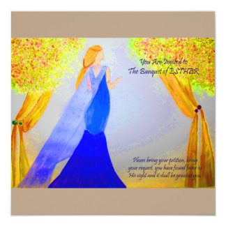 Banquet of Esther Card