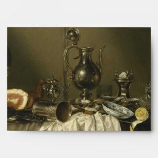 Banquet Piece with Ham by Willem Claesz Heda Envelope