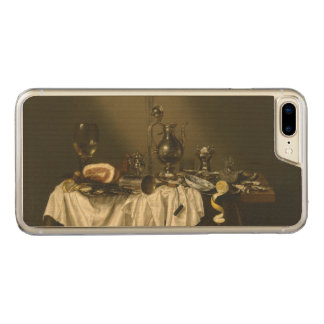 Banquet Piece with Ham Willem Claesz Heda Carved iPhone 7 Plus Case