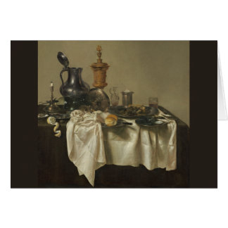 Banquet Piece with Mince Pie by Willem Claesz Heda Card