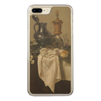 Banquet Piece with Mince Pie by Willem Claesz Heda Carved iPhone 7 Plus Case