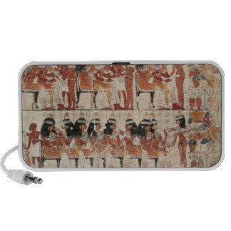Banquet scene, from Thebes, c.1400 BC Travelling Speaker