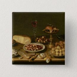 Banquet still life button