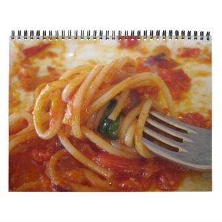 Banquete a través de Italia Calendarios
