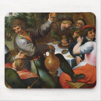 Banquete campesino, 1566 tapete de ratón