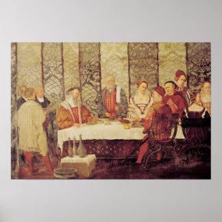 Banquete dado por Bartolomeo Colleoni Impresiones