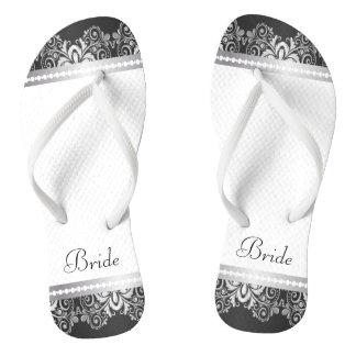 Banquete de boda blanco, negro y de plata del