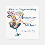 Banquete de boda de Las Vegas Servilleta Desechable