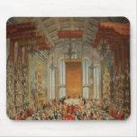 Banquete de la coronación de José II en Francfort Tapete De Raton