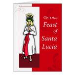 Banquete de Santa Lucía Felicitación