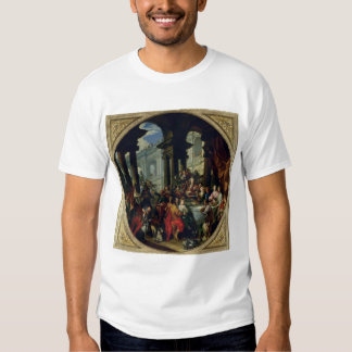 Banquete debajo de un pórtico iónico, c.1720-25 camisas