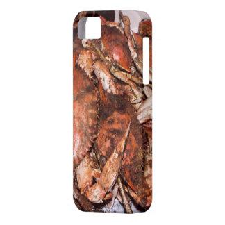 Banquete del cangrejo iPhone 5 carcasas