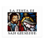 Banquete italian Festa di San José de St. Jos Tarjetas Postales