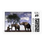 Banquete o Hambre-Elefantes Franqueo