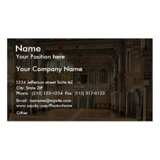 Banqueting Hall in Wilhelmina, Cannstatt (i.e., Ba Double-Sided Standard Business Cards (Pack Of 100)