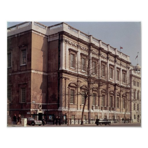Banqueting House, Whitehall, built in 1622 Poster