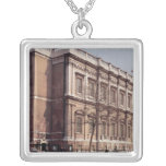 Banqueting House, Whitehall, built in 1622 Silver Plated Necklace