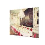 Banqueting Room, design devised by Nikolaus Canvas Prints
