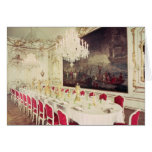 Banqueting Room, design devised by Nikolaus Card