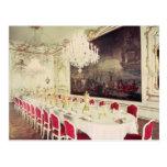 Banqueting Room, design devised by Nikolaus Postcard