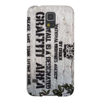 Bansky Designated Graffiti Area Galaxy S5 Case