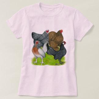 Bantam Hen Quartet T-Shirt