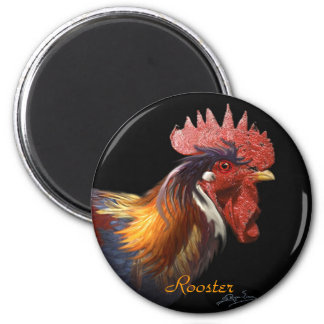 Bantam Rooster Farm Animal Chinese Astrology Magnets