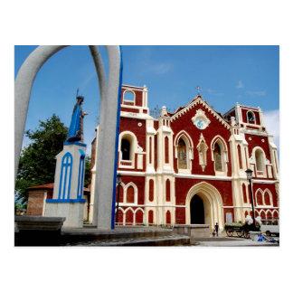 Bantay Church, Ilocos Sur, Philippines Postcard