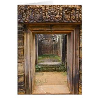 Banteay Srei Temple, Angkor, Siem Reap Province, Card