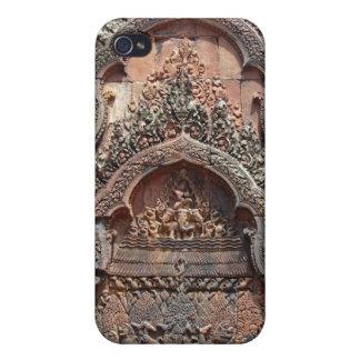 Banteay Srei Temple Chandi Carvings 2 iPhone 4/4S Case
