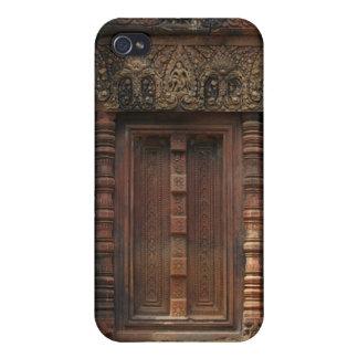 Banteay Srei Temple Chandi False Door 2 iPhone 4/4S Cover