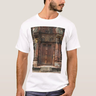 Banteay Srei Temple Chandi False Door 2 T-Shirt