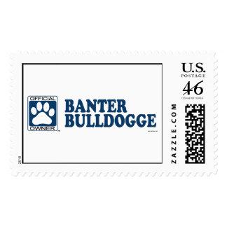 Banter Bulldogge Blue Stamp