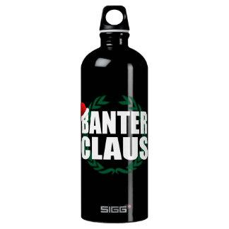 Banter Claus Clause Banter Merchant Aluminum Water Bottle