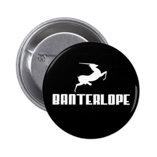 Banterlope Pinback Button