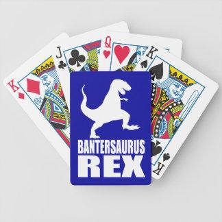Bantersaurus Rex Uni Banter Secret Santa Bicycle Poker Cards
