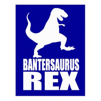 Bantersaurus Rex Uni Banter Secret Santa Postcard