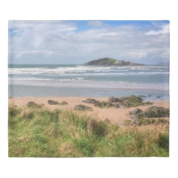 Bantham and Burgh Island View Duvet Cover
