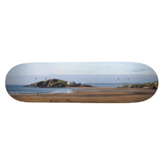 Bantham Beach and Burgh Island Skateboard