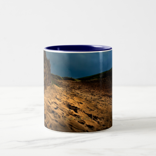 Bantham Beach, Devon Coffee Mugs