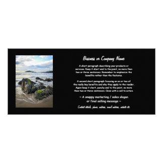 Bantham Rocks to Burgh Island Custom Rack Cards