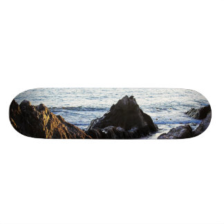 Bantham View to Burgh Island Custom Skateboard