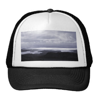 Bantry Bay from Tunnel Road Ireland. Blue. Mesh Hats