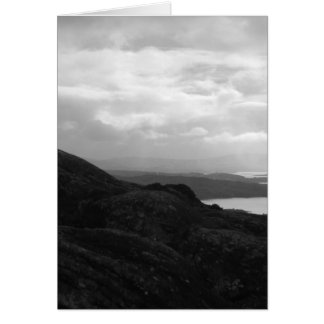 Bantry Bay from Tunnel Road Ireland. Card