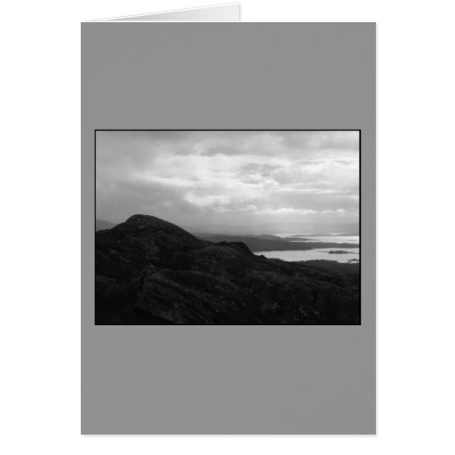 Bantry Bay from Tunnel Road Ireland. Greeting Card