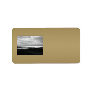 Bantry Bay from Tunnel Road Ireland. Personalized Address Label