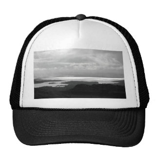 Bantry Bay from Tunnel Road Ireland. Mesh Hats