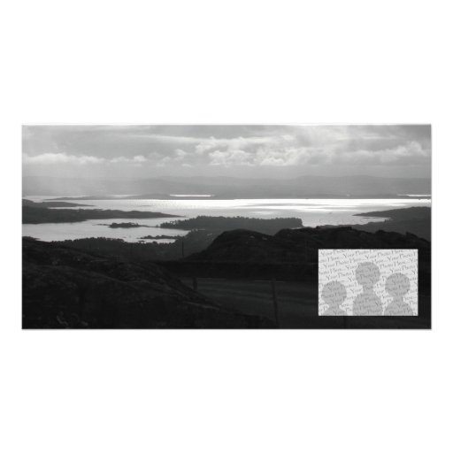Bantry Bay from Tunnel Road Ireland. Picture Card