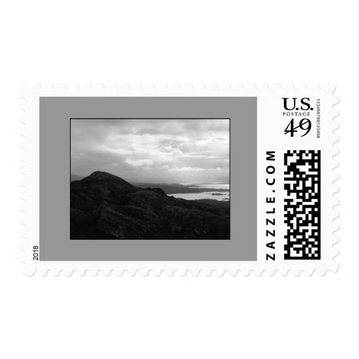 Bantry Bay from Tunnel Road Ireland. Postage Stamps